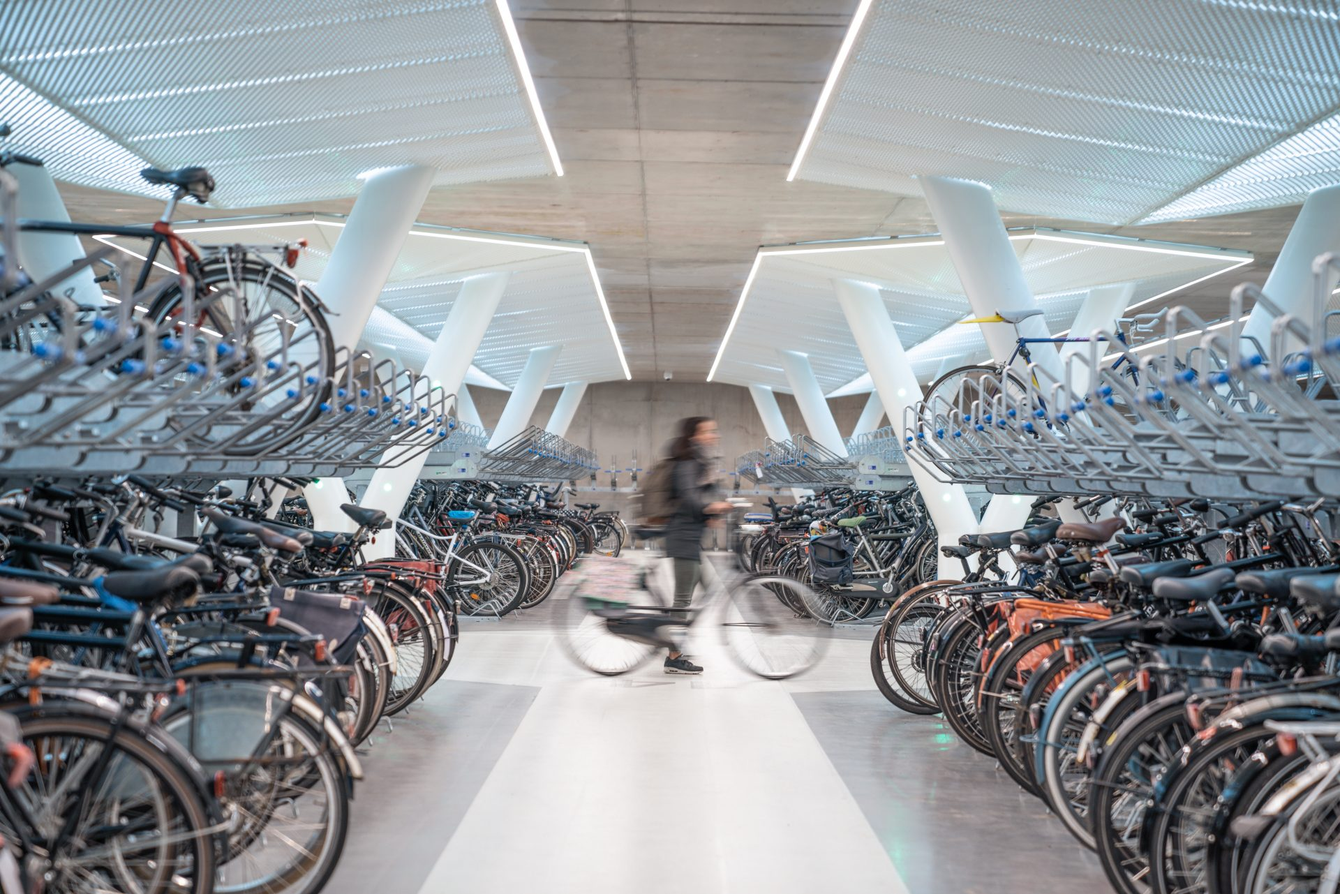 Architect ontwierp Efficiënte Parkeergarage