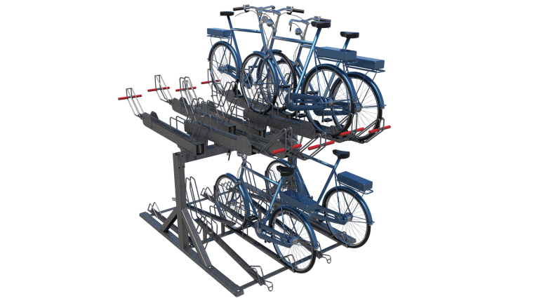 Velo-Up Etagerek voor E-bike