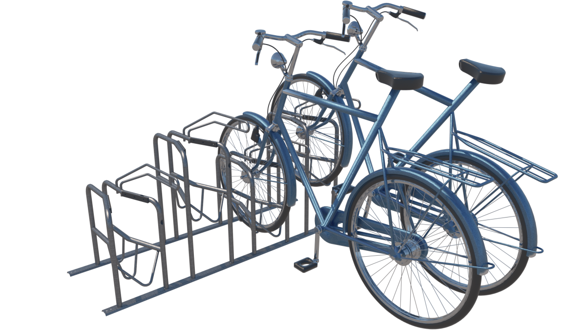Fietsenrek voor alle type fietsen