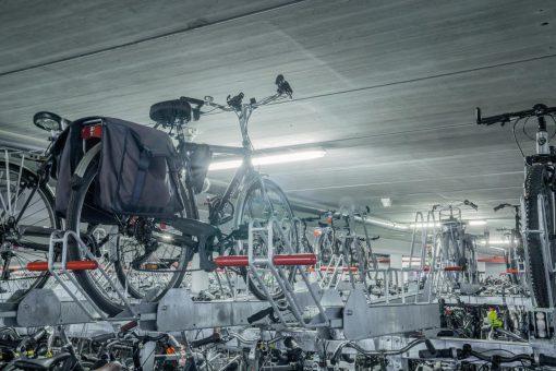 fietsenstalling voor scholen