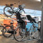 Dubbellaags-fietsparkeersysteem