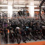 Compact fietsparkeren