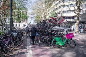Compact fietsparkeren van Mecurity